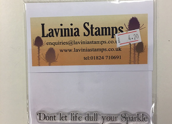 Lavinia Stamp - Sparkle -Lav446