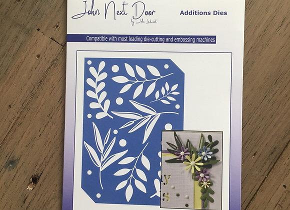 John Next Door - Additions Die - Small Leaves