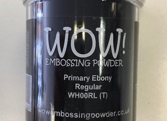 WOW EMBOSSING POWDER - PRIMARY EBONY- 160ml