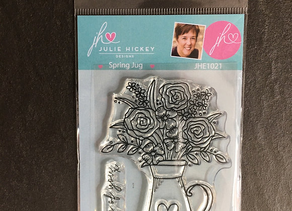Julie Hickey Designs SPRING JUG Stamp set