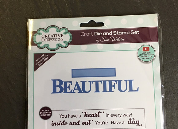 CREATIVE EXPRESSIONS - BOLD WORDS - BEAUTIFUL