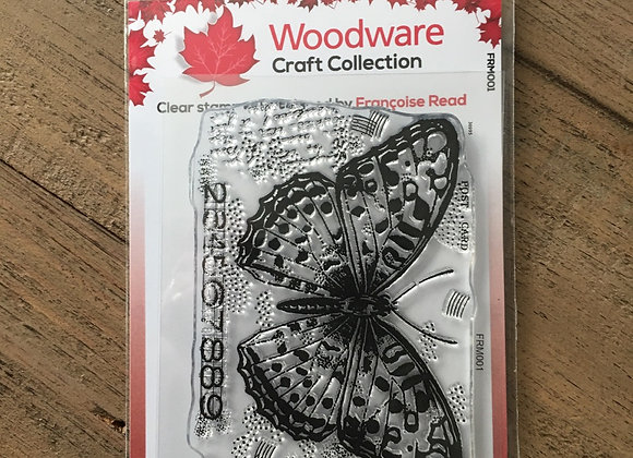 WoodWare Stamp - BUTTERFLY