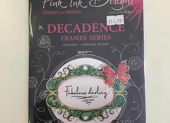 Pink Ink Designs Decadence Stamp Set