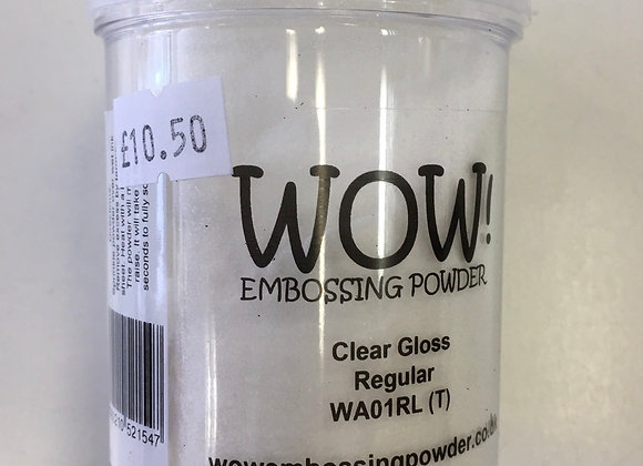 WOW EMBOSSING POWDER - CLEAR GLOSS - 160ml