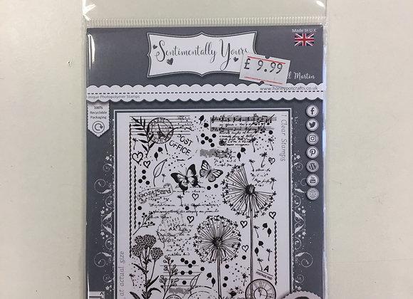 Sentimentally Yours Dandelions Medley Stamp set
