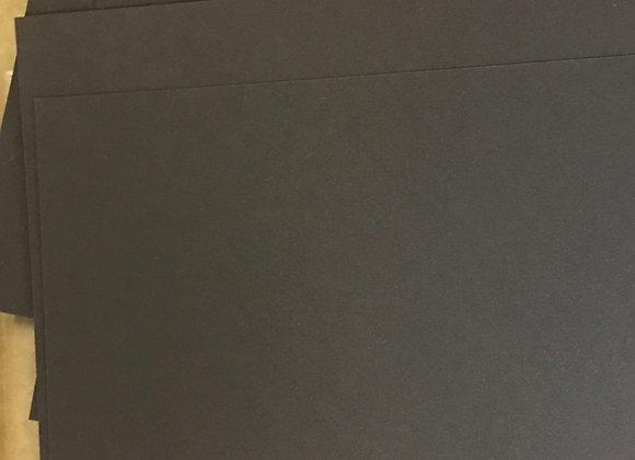 15cm x 30cm True BROWN Card
