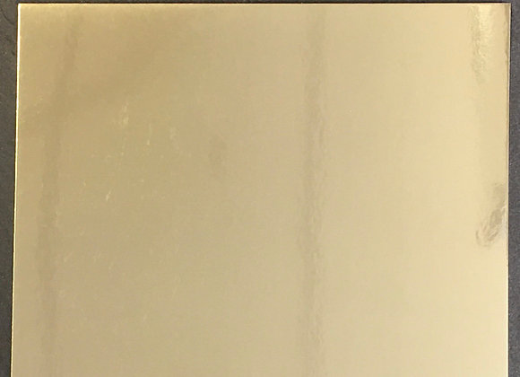 GOLD MIRROR CARD - 5 SHEETS