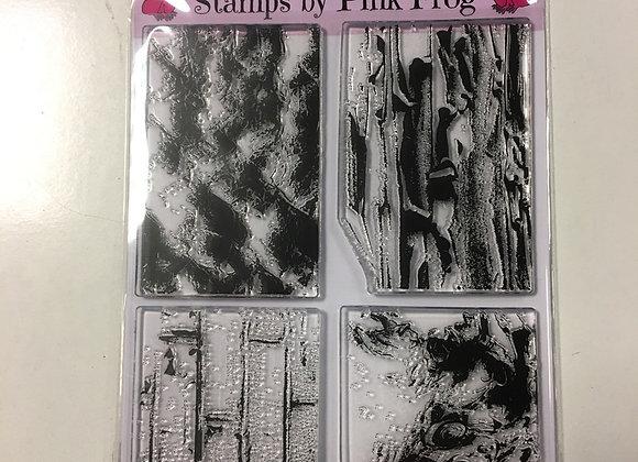 PINK FROG STAMPS - TEXTURE STAMPS - SET 2