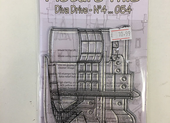 Picture This - Diva Drive no4 Stamp Set