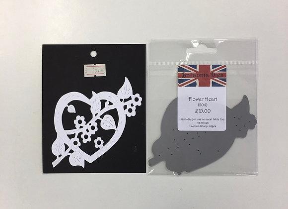 Britannia Dies - Flower Heart