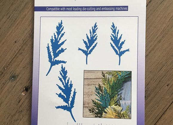 John Next Door - Additions Dies - Aster Leaves