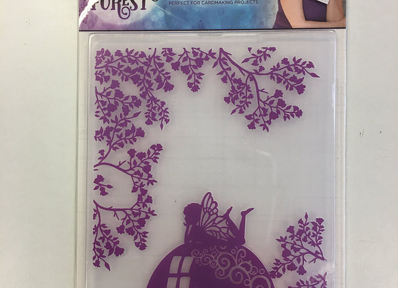Crafters Companion Embossing Folder - Toadstool Garden