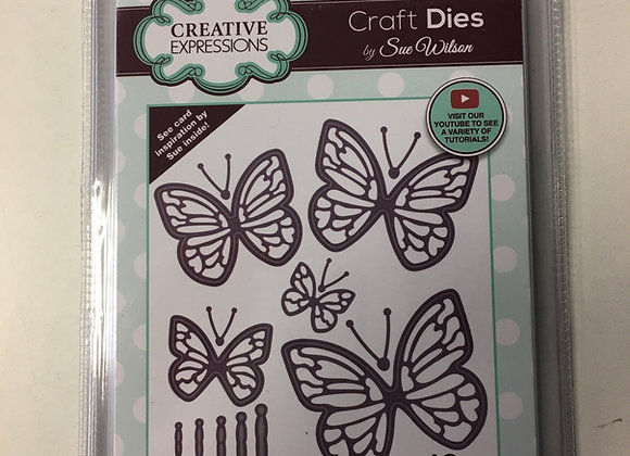 Creative  Expressions cutting die - BUTTERFLY DELIGHTS