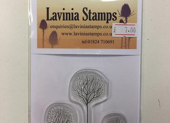Lavinia Stamp - Tree Scene -Lav530