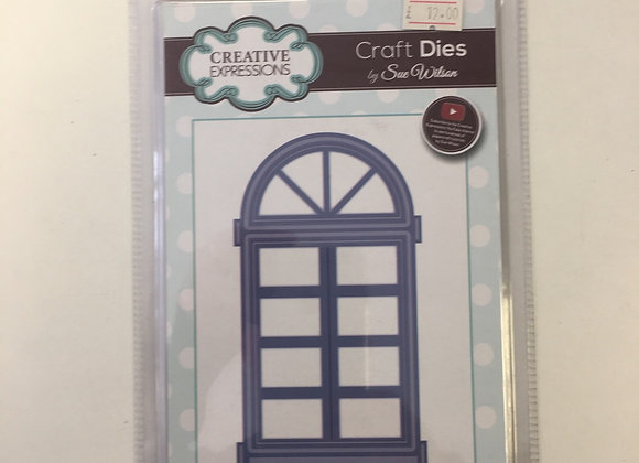 Creative Expressions Arched Door/Window cutting die