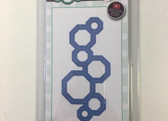 Creative Expressions Modern Octagon Border cutting die