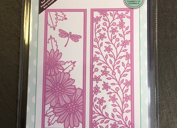 CREATIVE EXPRESSIONS - FLORAL PANELS - DAISY
