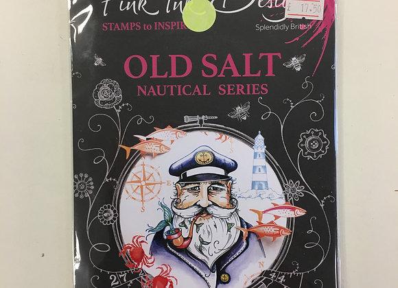 Pink Ink Stamps - Old Salt