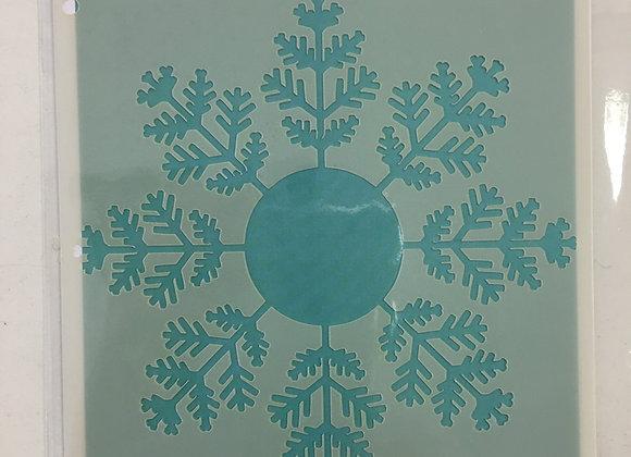 WOW STENCIL - SNOWFLAKE
