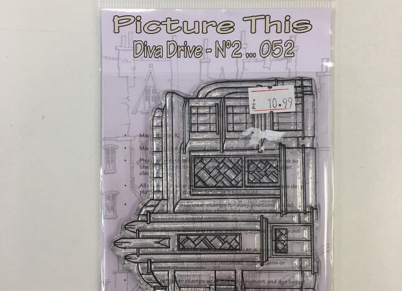 Picture This - Diva Drive no2 Stamp Set