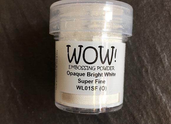 WOW EMBOSSING POWDER - OPAQUE BRIGHT WHITE