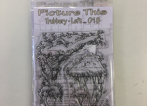 Picture This - Trubbery left Stamp Set