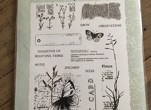 CREATIVE EXPRESSIONS A5-BUTTERFLY WALK STAMP