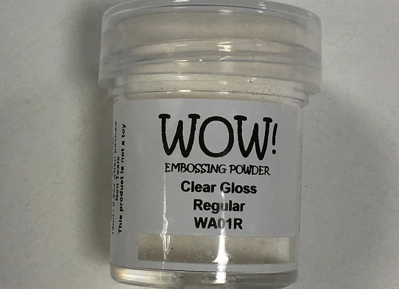 WOW EMBOSSING POWDER - CLEAR GLOSS-15ml