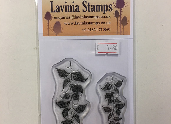 Lavinia Stamp -Berry Leaves -Lav 577