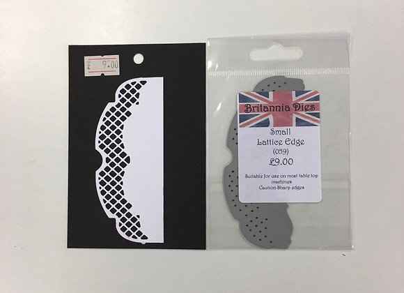 Britannia Dies - lattice Edge Small