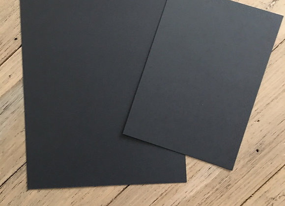 TRUE BLACK Card - A5/A6 MIX