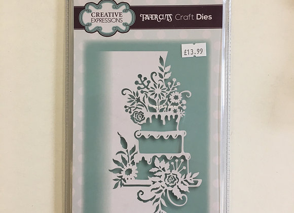 Creative Expressions paper cuts collection celebration cake edger
