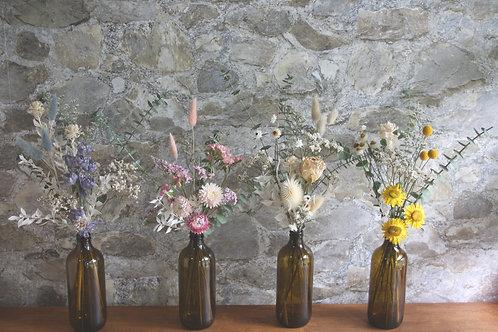 Dried Floral Bud Vase