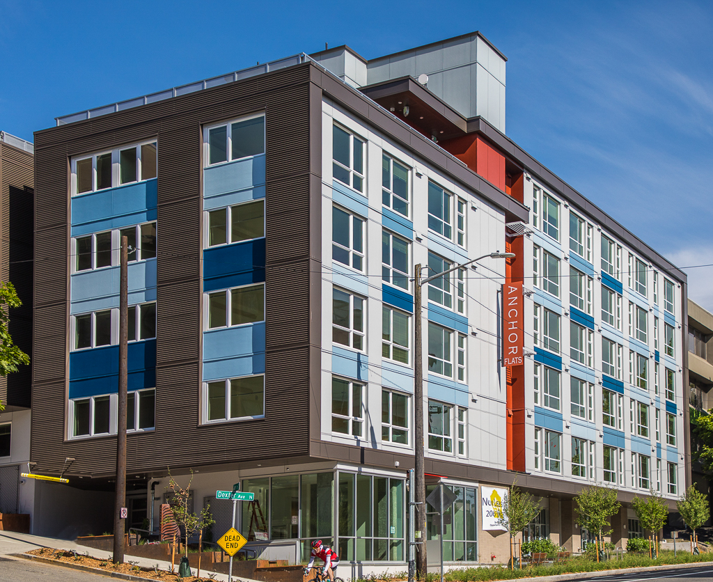 Anchor Flats, 71 affordable apartments, located in South Lake Union.