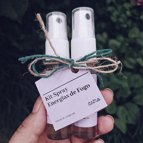 Kit Spray Energias de Fogo
