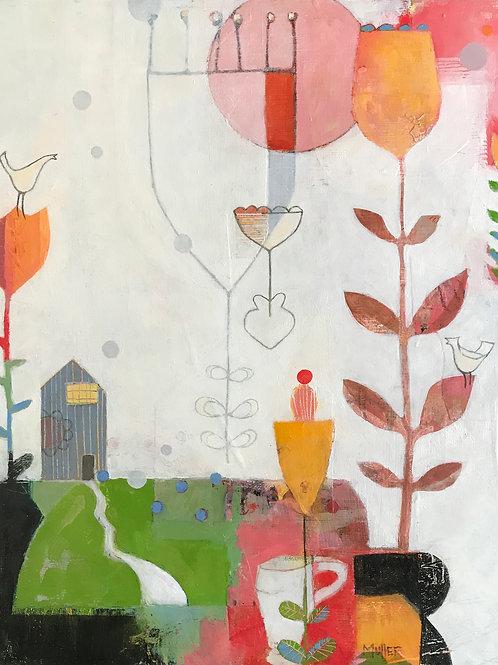 Annie's Garden- Available @ Exhibit B Gallery through Jan 30, '21