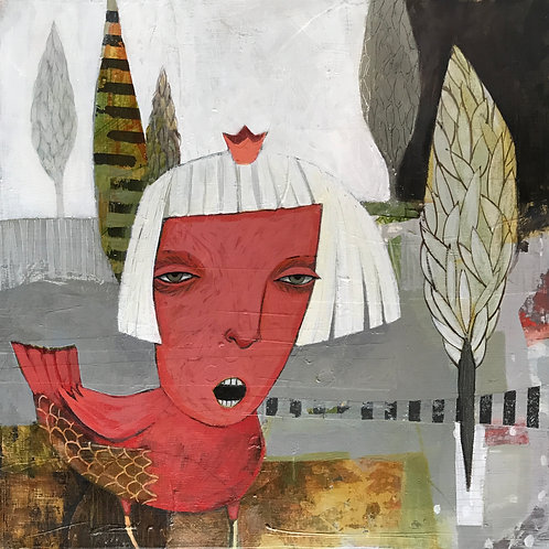 Cardinal's Rule- Available @ Exhibit B Gallery through Jan 30, '21