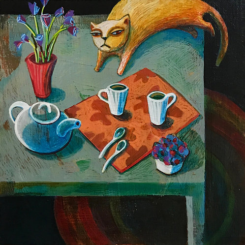 December 21 - Tea for Three - SOLD