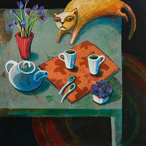 Tea for Three - PRINT