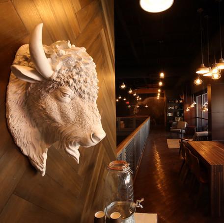 White Bison Interior