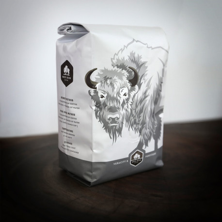 White Bison Coffee Bag
