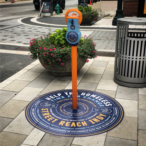 Street Reach Donation Meters