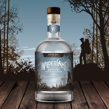 White Rum Label