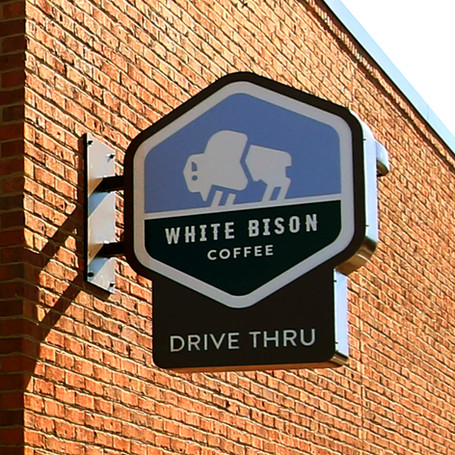 Drive Thru Blade Sign