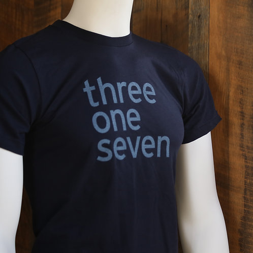 three one seven / Tee Shirt