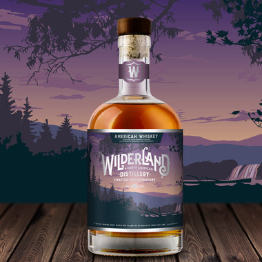 American Bourbon Label