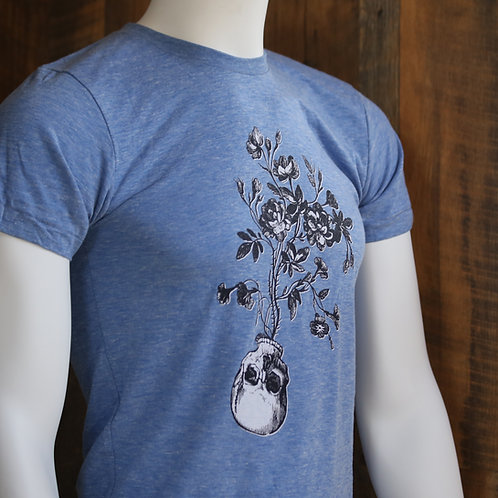 Skull Flowers / Tee Shirt