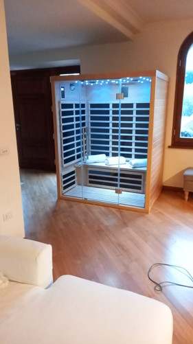 Sauna a Infrarossi