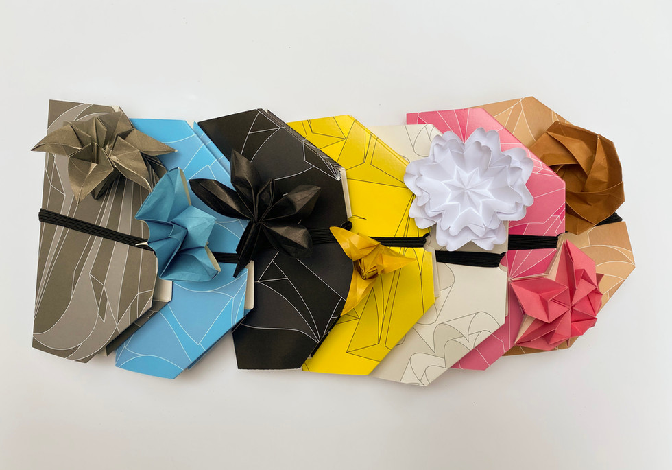 Oricool Naturally origami and Natural Fit facemask