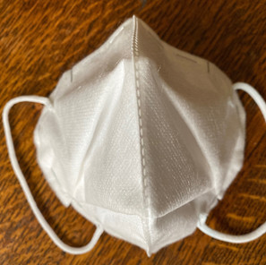 A DIY No-sew Origami Mask Made from Vacuum Filter